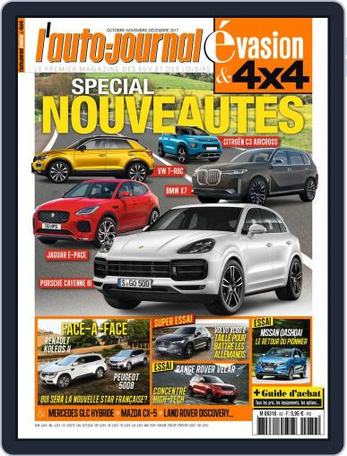 L'Auto-Journal 4x4 (Digital) October 1st, 2017 Issue Cover