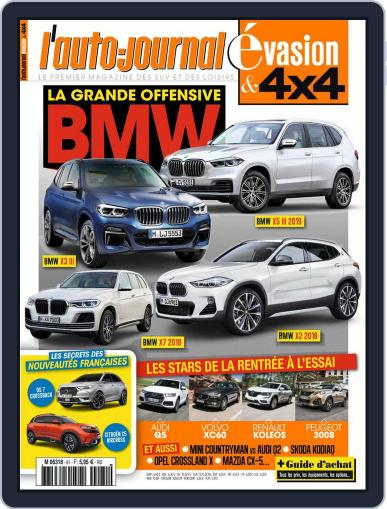 L'Auto-Journal 4x4 (Digital) June 1st, 2017 Issue Cover