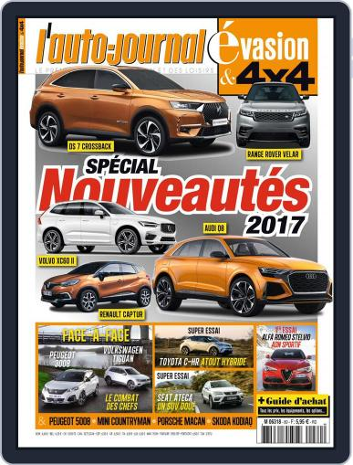 L'Auto-Journal 4x4 (Digital) March 23rd, 2017 Issue Cover