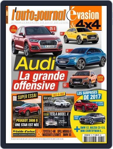L'Auto-Journal 4x4 (Digital) January 1st, 2017 Issue Cover