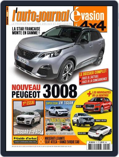 L'Auto-Journal 4x4 (Digital) June 16th, 2016 Issue Cover
