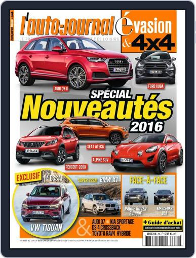 L'Auto-Journal 4x4 (Digital) March 10th, 2016 Issue Cover