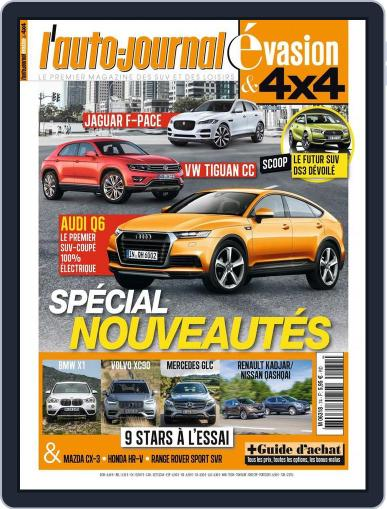 L'Auto-Journal 4x4 (Digital) September 15th, 2015 Issue Cover