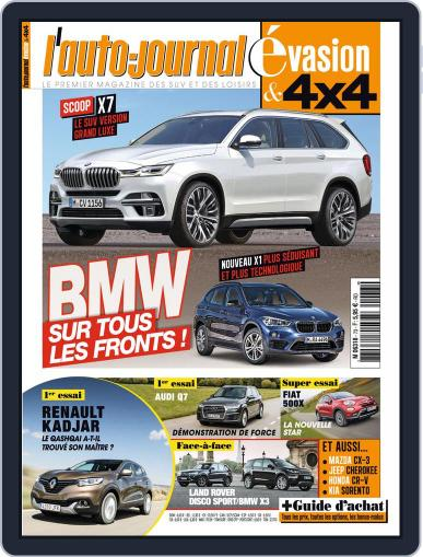 L'Auto-Journal 4x4 (Digital) June 17th, 2015 Issue Cover