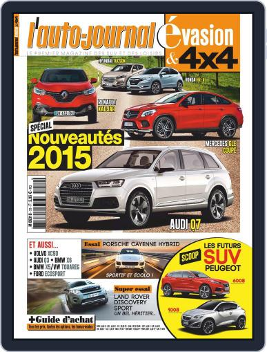 L'Auto-Journal 4x4 (Digital) March 11th, 2015 Issue Cover