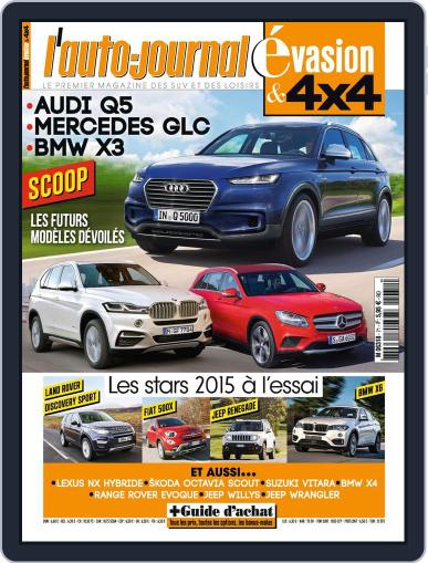 L'Auto-Journal 4x4 (Digital) December 18th, 2014 Issue Cover