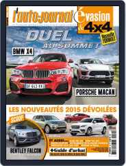 L'Auto-Journal 4x4 (Digital) Subscription September 22nd, 2014 Issue