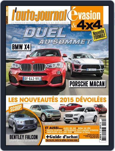 L'Auto-Journal 4x4 (Digital) September 22nd, 2014 Issue Cover