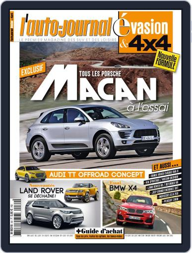 L'Auto-Journal 4x4 (Digital) June 18th, 2014 Issue Cover