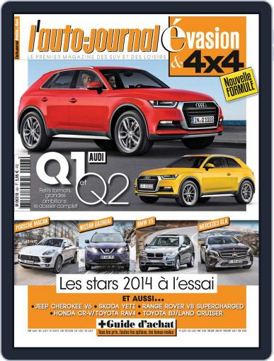 L'Auto-Journal 4x4 (Digital) March 12th, 2014 Issue Cover