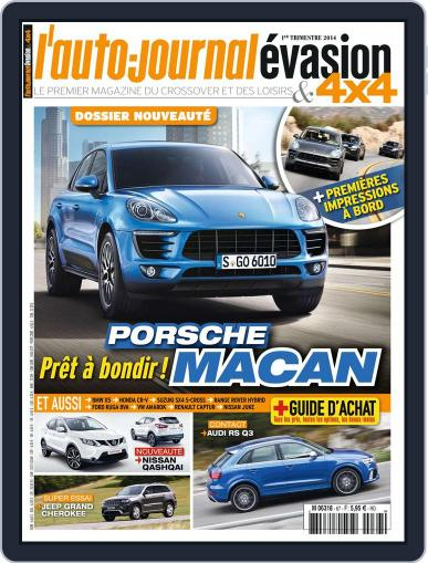 L'Auto-Journal 4x4 (Digital) December 11th, 2013 Issue Cover