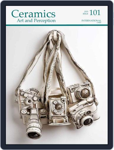 Ceramics: Art and Perception September 1st, 2015 Digital Back Issue Cover