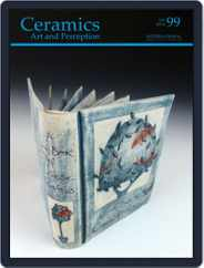 Ceramics: Art and Perception (Digital) Subscription March 1st, 2015 Issue