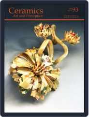 Ceramics: Art and Perception (Digital) Subscription September 12th, 2013 Issue