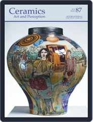 Ceramics: Art and Perception (Digital) Subscription March 2nd, 2012 Issue