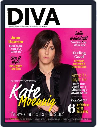 DIVA March 1st, 2020 Digital Back Issue Cover