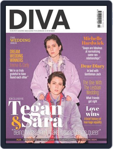 DIVA November 1st, 2019 Digital Back Issue Cover