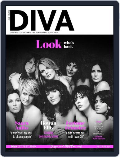 DIVA March 1st, 2019 Digital Back Issue Cover