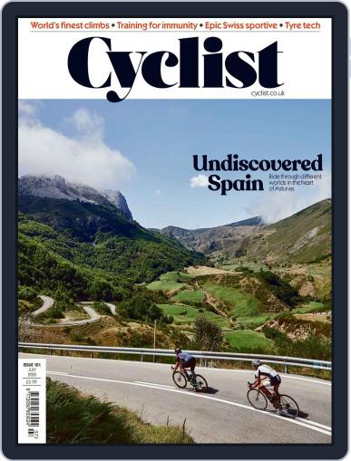 Cyclist (Digital) July 1st, 2020 Issue Cover