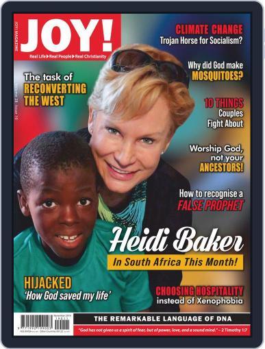 Joy! (Digital) November 1st, 2019 Issue Cover