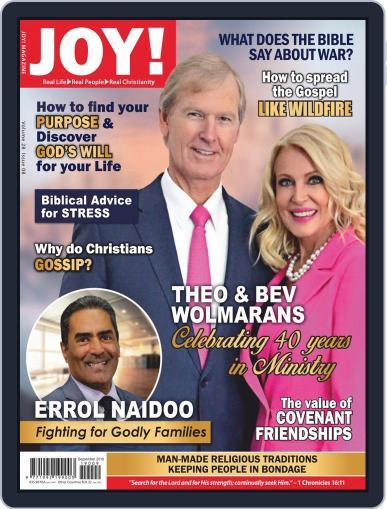 Joy! (Digital) September 1st, 2019 Issue Cover