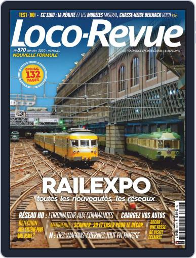 Loco-revue (Digital) January 1st, 2020 Issue Cover