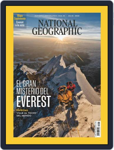 National Geographic - España (Digital) July 1st, 2020 Issue Cover