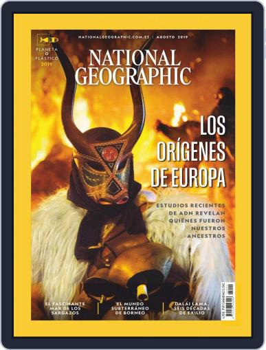 National Geographic - España August 1st, 2019 Digital Back Issue Cover