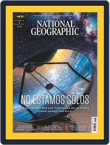 National Geographic - España March 1st, 2019 Digital Back Issue Cover