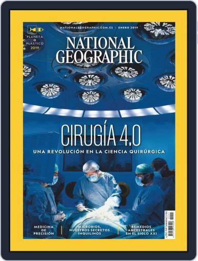 National Geographic - España January 1st, 2019 Digital Back Issue Cover