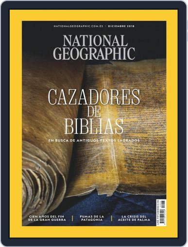 National Geographic - España December 1st, 2018 Digital Back Issue Cover