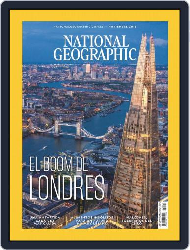 National Geographic - España November 1st, 2018 Digital Back Issue Cover