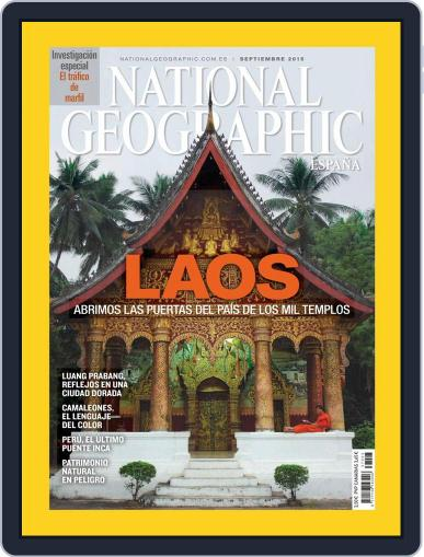 National Geographic - España (Digital) September 1st, 2015 Issue Cover