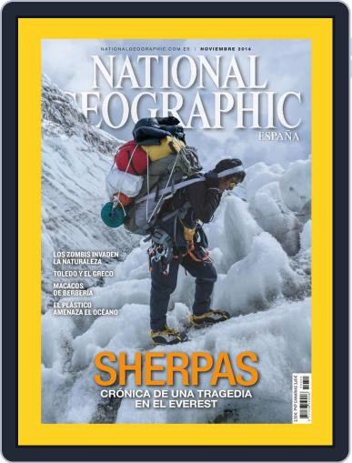 National Geographic - España (Digital) October 22nd, 2014 Issue Cover