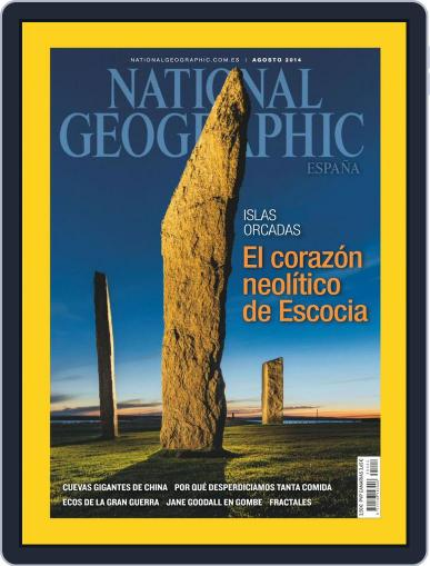 National Geographic - España (Digital) July 23rd, 2014 Issue Cover