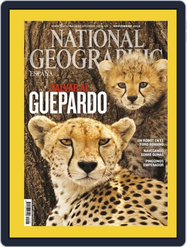 National Geographic - España October 23rd, 2012 Digital Back Issue Cover