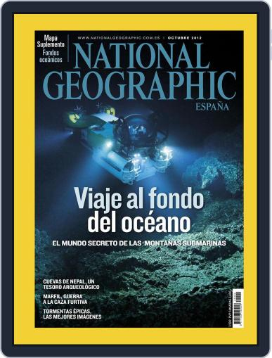 National Geographic - España September 21st, 2012 Digital Back Issue Cover