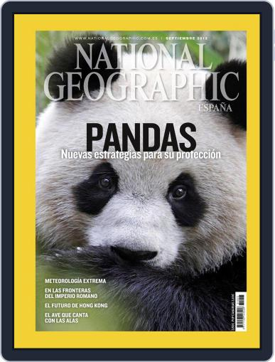 National Geographic - España August 21st, 2012 Digital Back Issue Cover