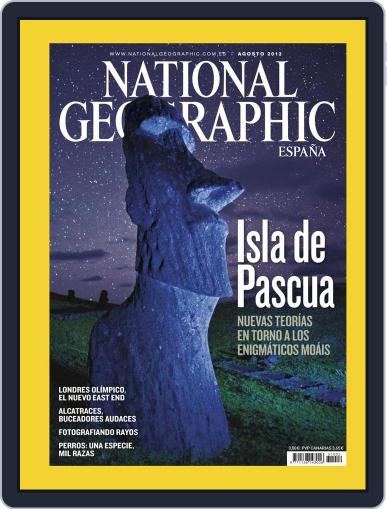National Geographic - España July 23rd, 2012 Digital Back Issue Cover