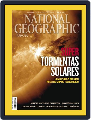 National Geographic - España June 20th, 2012 Digital Back Issue Cover