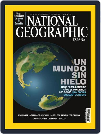 National Geographic - España April 30th, 2012 Digital Back Issue Cover