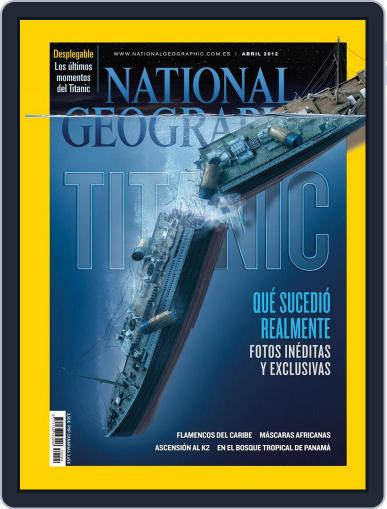 National Geographic - España March 21st, 2012 Digital Back Issue Cover