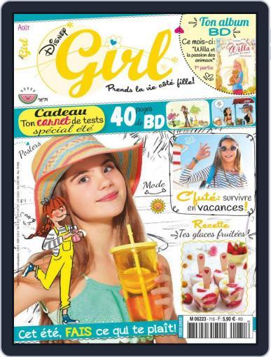 Disney Girl (Digital) August 1st, 2019 Issue Cover