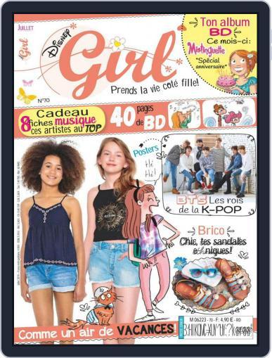 Disney Girl (Digital) July 1st, 2019 Issue Cover