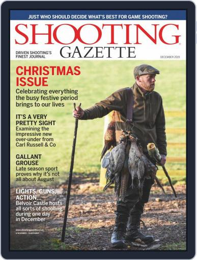 Shooting Gazette December 1st, 2019 Digital Back Issue Cover