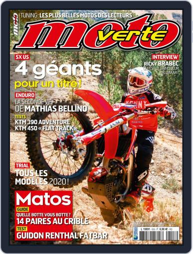 Moto Verte April 9th, 2020 Digital Back Issue Cover