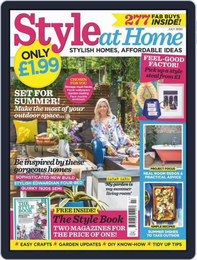 Style At Home United Kingdom (Digital) July 1st, 2020 Issue Cover