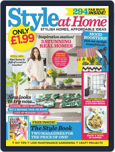 Style At Home United Kingdom (Digital) June 1st, 2020 Issue Cover