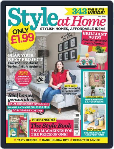 Style At Home United Kingdom (Digital) May 1st, 2020 Issue Cover