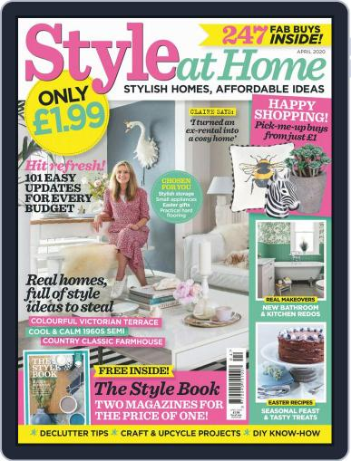 Style At Home United Kingdom (Digital) April 1st, 2020 Issue Cover